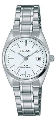 Pulsar Reloj Mujer de Analogico con Correa en Chapado en Acero Inoxidable PH7439X1