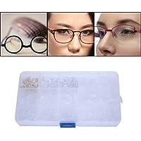 Almohadillas para la nariz - Almohadillas de silicona de anteojos de silicona, 300 piezas de repuesto Almohadillas para la nariz, kit de reparación de gafas, 15 estilos