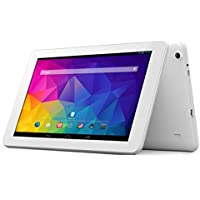 Odys Ieos Quad white Edition X610092 25,7 cm (10,1 Zoll) Tablet-PC (Rockchip Quad-Core, 1,4GHz, 1GB RAM, 8GB HDD, WiFi, v4.0 Bluetooth, Android 4.4 Touchscreen, inkl. Kingsoft Office) weiß