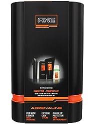 Axe Coffret Parfum Adrenaline Tondeuse + Daily Fragrance + Déodorant + Gel pour Homme