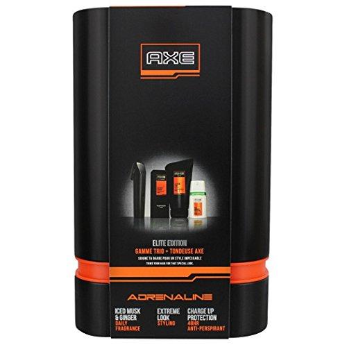 Estuche Axe con maquinilla para el pelo + Colonia Daily Fragrance + Desodorante + Gel para hombre