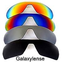 Galaxy Lentes De Repuesto Para Oakley Offshoot Negro/Gris/Azul/Rojo Polarizados 4 Pares
