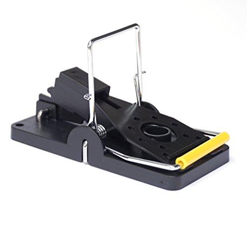ProfessionalTree® 10er-Set Profi-Mausefallen Köder-Fallen Schlagfallen - Sichere und hygienische Beseitigung von Mäusen Schädlingsbekämpfung - Kunststoff schwarz Premium- Qualität
