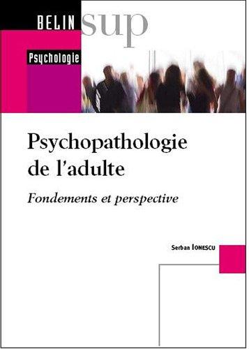 Psychopathologie de l'adulte