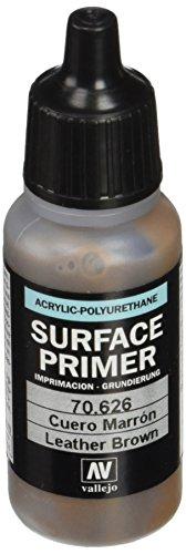 AV Polyurethan 17ml–Primer Leder braun (Acryl-leder-farbe Brown)