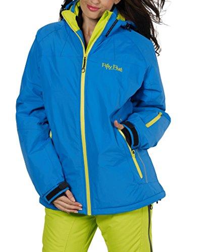 Ski-Jacke Snowboard-Jacken für Damen von Fifty Five - Glory - winddicht und wasserdicht mit FIVE-TEX Membrane für Outdoor-Bekleidung