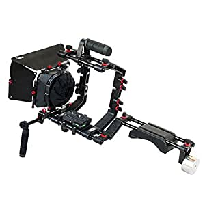 CAMTREE Filmcity Shoulder Rig Kit with Cage and Box (Black)