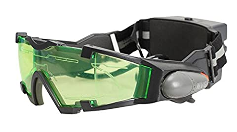 SaySure - Ergonomic Design Night Vision Goggles Green Tinted Lens LED