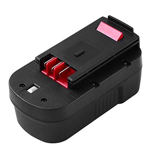 Topbatt 3.0Ah Ni-MH pour Black et Decker 18V Batterie de Remplacement A18 A1718 A18NH A18E HPB18 HPB18-OPE HPB18-OPE2 244760-00 Tempête de feu EPC18 FSB18 FS180BX FS18FL NST2118