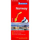 Norway NATIONAL Map (Michelin National Maps)