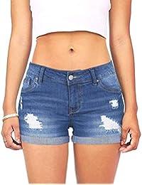 5e5c6c9320dd Jeans Damen Skinny Jeans Hosen Für Damen Low Waist Classic Bis Stretch Hohe  Taille Stretch Slim Bleistift Hose…