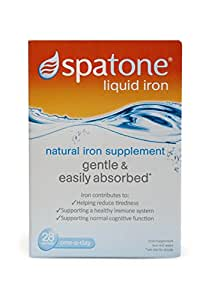 Nelsons Spatone 100% Natural Iron Supplement--28 Sachets (Packaging May Vary)