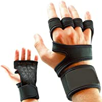 Sports gloves for weightlifting with soft lining