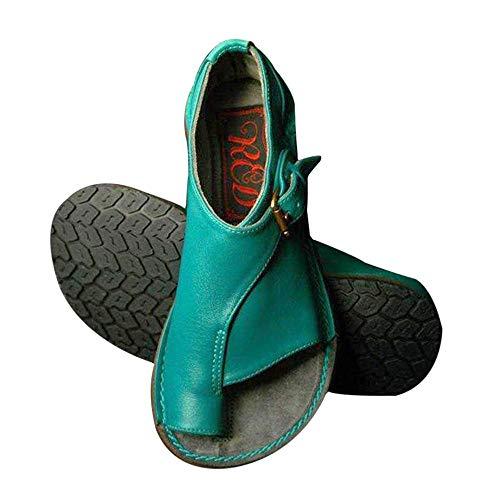 Goglor Cómodos Zapatos Ortopedicos Mujer Plataformas