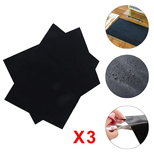 MultiWare 3 x Universal Teflon Oven Cooker Liner Non Stick Heavy Duty Lining 40 x 50 cm Assisted Ovens