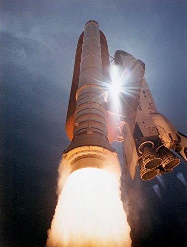 poster-a3-nasa-sts-43-launch-the-space-shuttle-atlantis-streaks-skyward-as-sunlight-pierces-through-