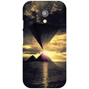 Motorola Moto G (2nd Gen) Back Cover - Sunshine Designer Cases