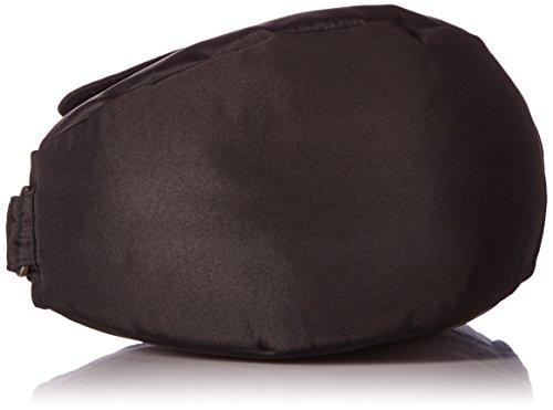 Healthy 7103, Borsa-zainetto unisex adulto, 23x43x15 cm (L x A x P) Nero (Schwarz (black BK))