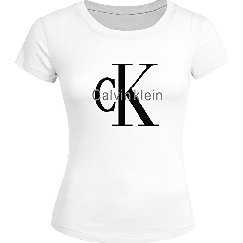 Preisvergleich Produktbild Calvin Klein CK Printed For Ladies Womens T-shirt Tee Outlet