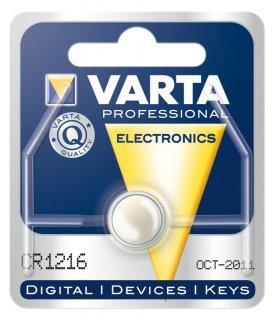 Lithium-Knopfzelle VARTA CR 1216. 25mAh. 3V. 1er Blister von Varta bei Lampenhans.de
