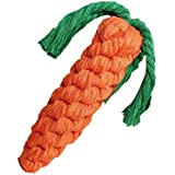 Pets Empire 100% Natural & Safe Cotton Carrots Ultra Durable Rope Dog Toy (1 Piece)Color May Vary