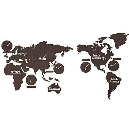 FFDGHB Orologio da Parete Orologio Nordico Orologio da Parete Soggiorno Moda Creativa Orologio da Parete Decorativo personalità Carta da Parati Domestica 220 * 115 * 0,3 Cm