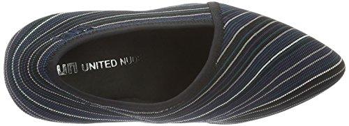 United NudeFold Lite Hi - Scarpe con Tacco Donna Grigio (Grau (Falcon))