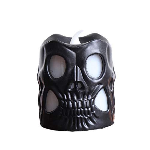 Kostüm Ghost Ops Black - Mitlfuny Halloween coustems Kürbis Hexe Cosplay Gast Ghost Schicke Party Halloween deko,Halloween-Dekorations-Schädel-Kerzen-Licht-buntes Steigungs-Nachtlicht