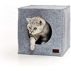 Panier chat de PiuPet® Coussin inclus   Compatible avec IKEA® Kallax étagères