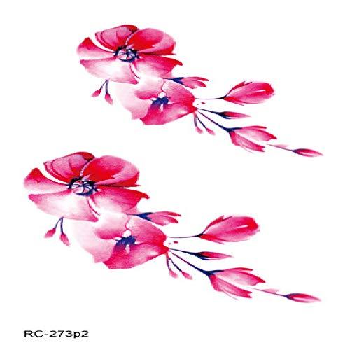 Adesivi per tatuaggi freschi impermeabili piccoli di protezione dell'ambiente piccoli adesivi per tatuaggi di colore di personalità originale 3pcs-21 105 * 60mm