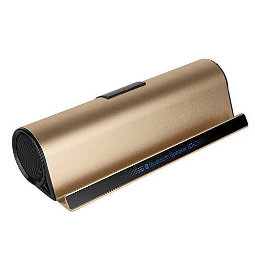 OPAKY High-End-Alloy Bluetooth-Audio-Halterung Mobiltelefone Multifunktions-Basslautsprecher für iPhone, Samsung usw.