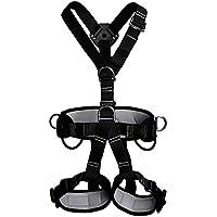 Al Aire Libre Escalada Cinturón De Seguridad Trabajo Aéreo Aire Acondicionado Instalación Cuerpo Completo Protección Alpinismo Cinturón De Seguridad Equipo De Escalada,1,OneSize