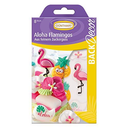 mingo Set | Ananas aus Zucker | Flamingo Zuckerfiguren | Aloha Zuckerfiguren | Aloha Party | Flamingo Party ()