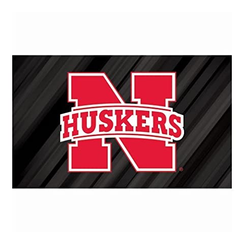 Nebraska Sublimated Floor Mat by Fans With Pride