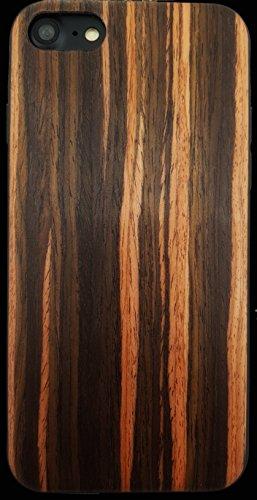 Gamma Shark iPhone 6/6S/7/8Echtholz Fall mit Laminat Beschichtung und TPU Gummi-Einlage-Stoßfest + Anti Kratzer, Stil 1, iPhone/s - Laminat-einlage
