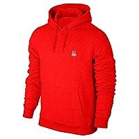 Erkek Kırmızı Kapşonlu Sweatshirt
