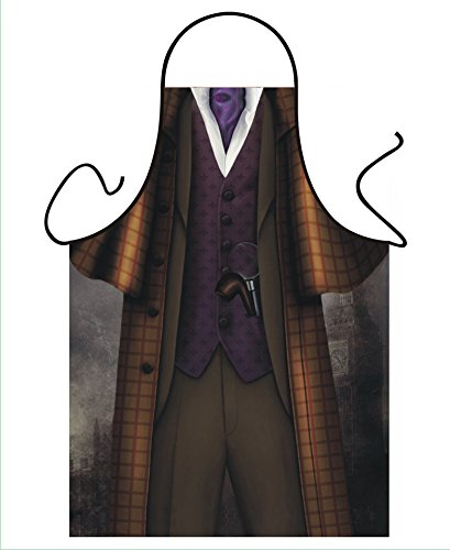 Tannhäuser Tann Casas 43-100114Delantal de Sherlock Holmes, unisex de adulto, One size