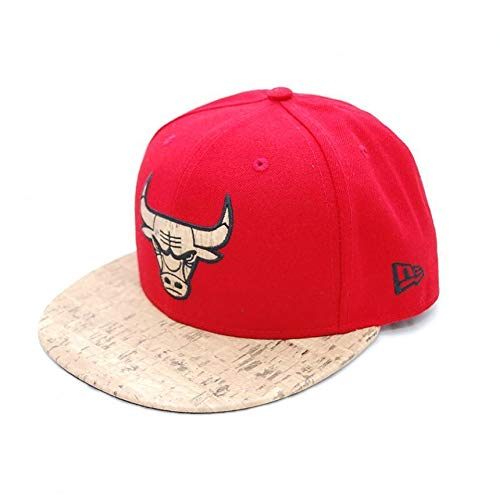 New Era 6 7/8 casquettes fitted cork chibul rouge