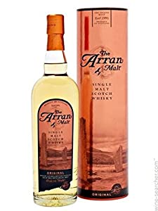 The Arran Lochranza Single Malt Scotch Whisky 70cl Bottle from The Arran