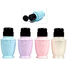 Takestop® Juego 2 Piezas Dispensador Pequeño Botella Salon Retro barroco Nail Art dosificador a
