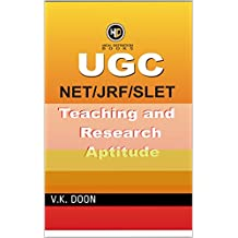 UGC NET/JRF TEACHING AND RESEARCH APTITUDE Book: UGC NET/JRF