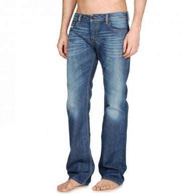 Diesel Zatiny Regular Fit Mens Jeans - Blue Wash - 008XR 32W/32L