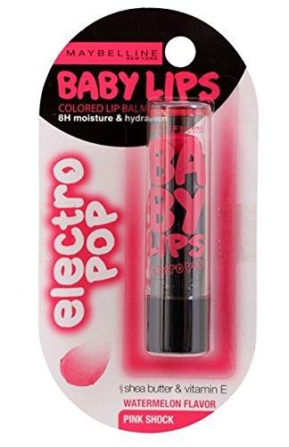Maybelline New York Baby Lips Electro, Pink Shock, 3.5gm