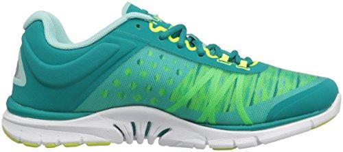 Ryka Womens Dynamic 2.5 Cross-Trainer Shoe Teal/Green