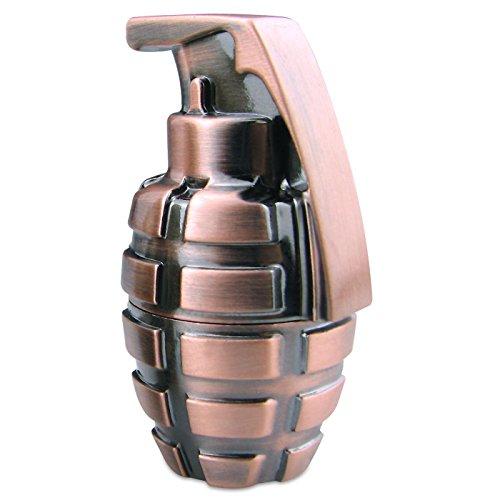 818-Shop No27300010064 USB-Sticks (64 GB) Handgranate Bombe Metall Metallik