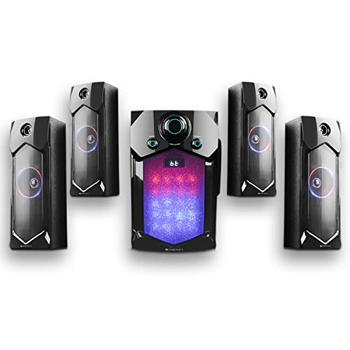 Zebronics Indie 4.1 Channel Multi Media Speaker (Black)