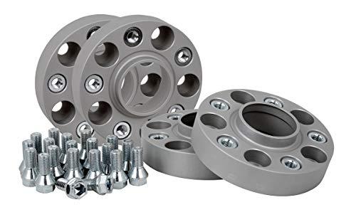 Spurverbreiterung Aluminium 4 Stück (25 mm pro Scheibe / 50 mm pro Achse) inkl. TÜV-Teilegutachten -