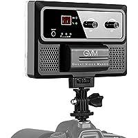 GVM LED Luminaire LED Vidéo Lampe éclairage TLCI/CRI 97 + température Bicolore 3200K-5600K Dimmable 240 LED Lampe Vidéo Caméra Studio de Photographie Youtube (GVM-10S)