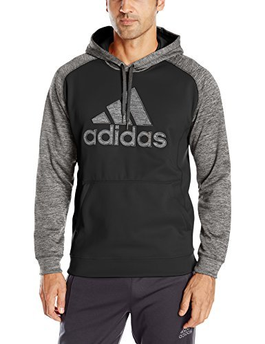 Adidas Performance Men S Team Issue Fleece Logo Pullover Hoodie
