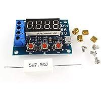 Ruirain-ES Power Battery Capacity Tester Module LED Digital Li-Ion Lithium 18650 External Load Battery Discharge Testing Analyzer Board